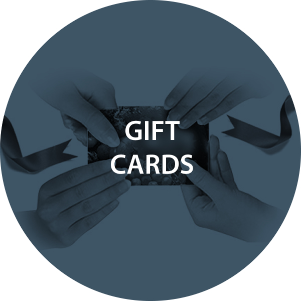 GIFT CARDS – THIRD PARTY