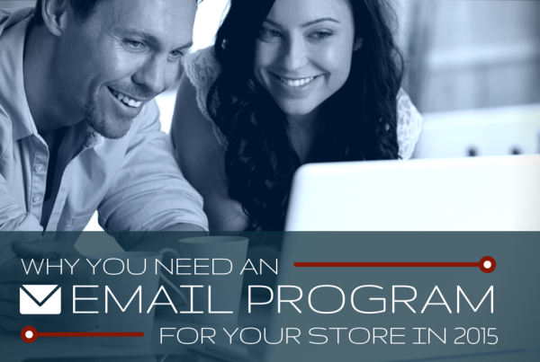 Why you need an email program for your store in 2015