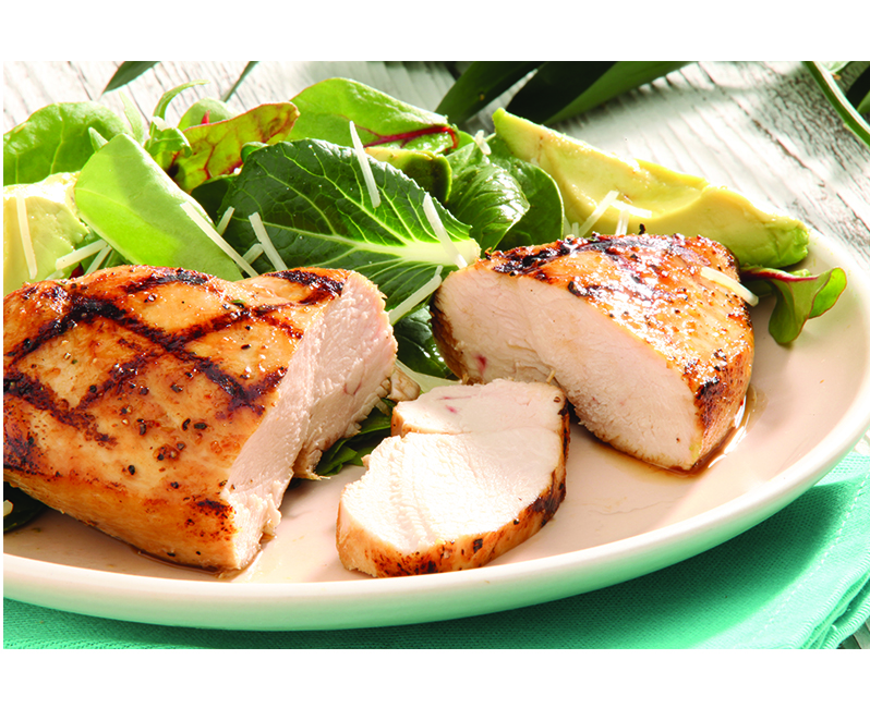 Grilled bonless skinless chicken breast