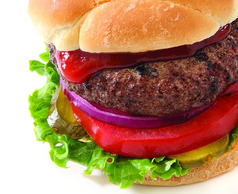 Hamburger with ketchupHH0513