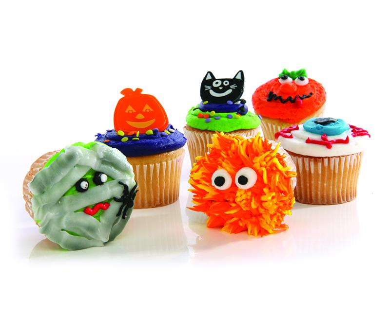 Halloween cupcakes 6ctPC1012