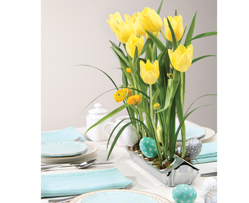 Spring Gatherings floral arrangments