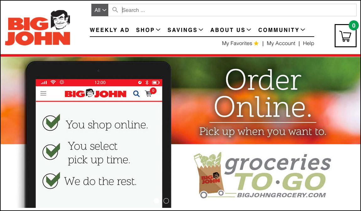 Big John Website